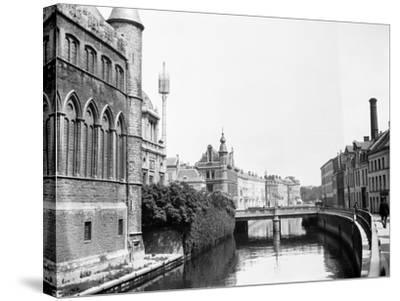 Ghent, Belgium, 1925-Edward Hungerford-Stretched Canvas Print