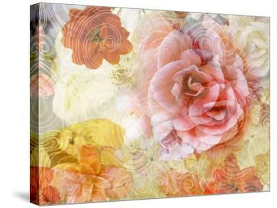 Composing with Blossoms and Floral Ornaments-Alaya Gadeh-Stretched Canvas Print