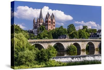 Germany, Hessen, Taunus (Region), Lahn, Limburger Becken-Udo Siebig-Stretched Canvas Print