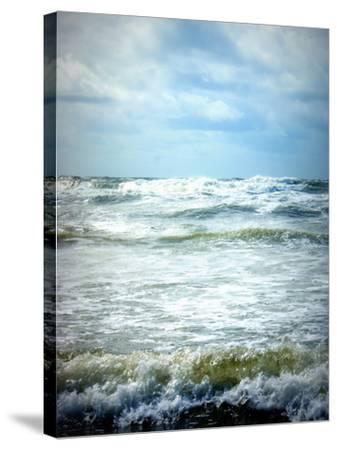 North Sea Beach Netherlands-Alaya Gadeh-Stretched Canvas Print
