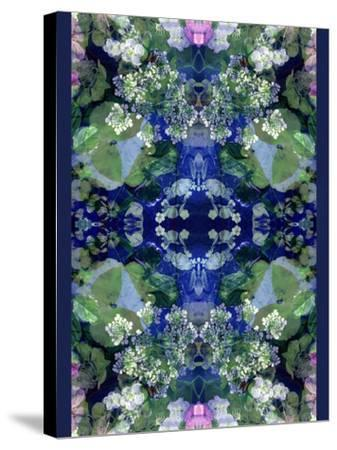 Symmetric Ornament from Flowers-Alaya Gadeh-Stretched Canvas Print