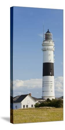 Lighthouse of Kampen (Municipality), Sylt (Island), Schleswig-Holstein, Germany-Rainer Mirau-Stretched Canvas Print