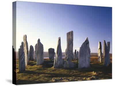 GrovŸbritannien, Schottland-Thonig-Stretched Canvas Print