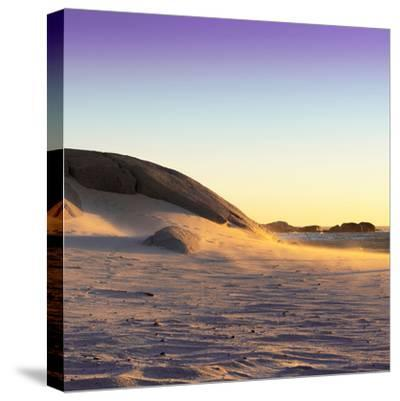 Awesome South Africa Collection Square - Sand Dune at Sunset II-Philippe Hugonnard-Stretched Canvas Print