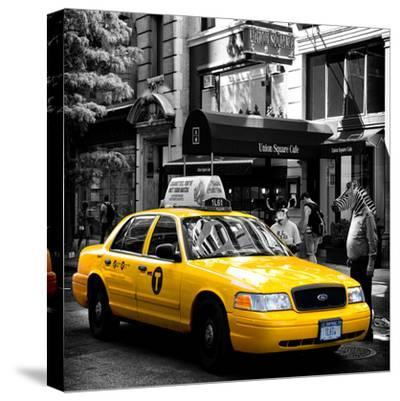 Safari CityPop Collection - NYC Union Square III-Philippe Hugonnard-Stretched Canvas Print