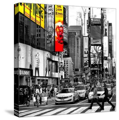 Safari CityPop Collection - Times Square Lion King IV-Philippe Hugonnard-Stretched Canvas Print