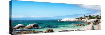Awesome South Africa Collection Panoramic - Boulders Beach IV-Philippe Hugonnard-Stretched Canvas Print