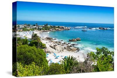 Awesome South Africa Collection - Clifton Beach Cape Town-Philippe Hugonnard-Stretched Canvas Print
