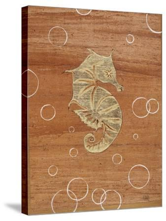 Ocean Style Seahorse-Hart Hart-Stretched Canvas Print