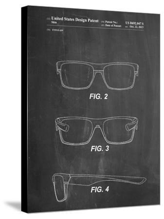 Two Face Prizm Oakley Sunglasses Patent-Cole Borders-Stretched Canvas Print