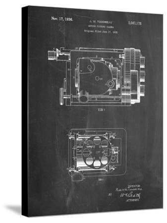 Motion Picture Camera 1932 Patent-Cole Borders-Stretched Canvas Print