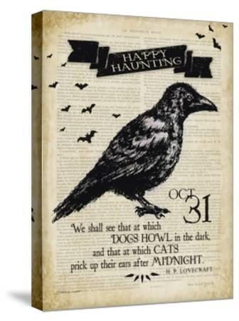 Raven-Stephanie Marrott-Stretched Canvas Print