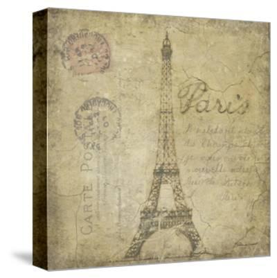 Paris-Stephanie Marrott-Stretched Canvas Print