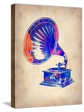 Gramophone 2-NaxArt-Stretched Canvas Print