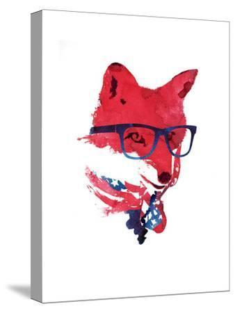 American Fox-Robert Farkas-Stretched Canvas Print
