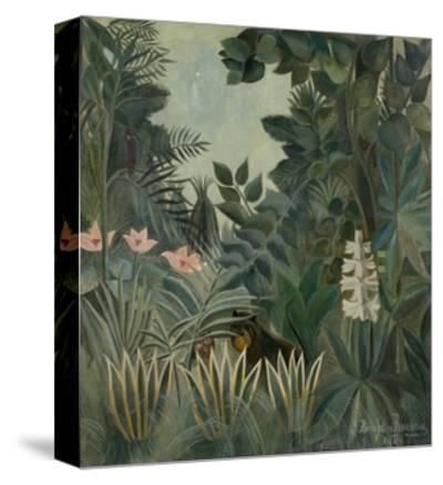 The Equatorial Jungle, 1909-Henri Rousseau-Stretched Canvas Print