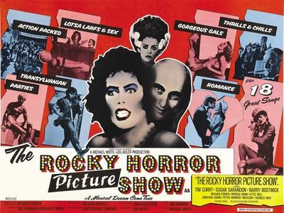 The Rocky Horror Picture Show, 1975--Stretched Canvas Print