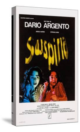 Suspiria, Italian Poster Art, Jessica Harper, 1977--Stretched Canvas Print