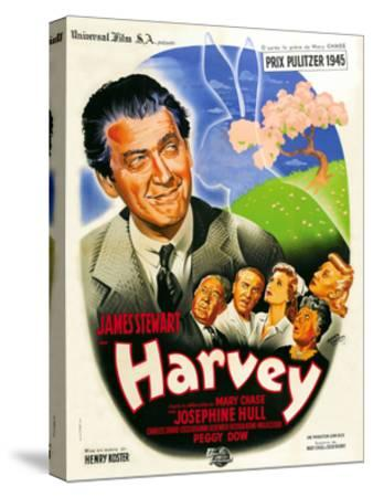 Harvey, French Poster Art, 1950--Stretched Canvas Print