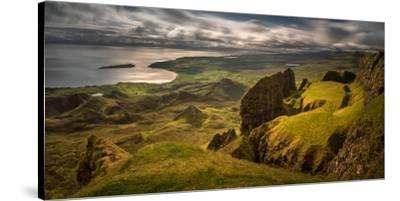 The Table in Quiraing at Trotternish Ridge, Isle of Skye, Scotland--Stretched Canvas Print