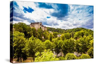 View of Loket Castle in the Countryside of the West Bohemian Spa Triangle Outside of Karlovy Vary-Laura Grier-Stretched Canvas Print