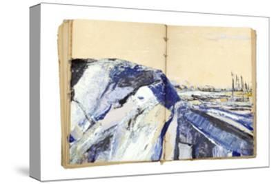 Sketchbook Landscape 4-The Trainyard Cooperative-Stretched Canvas Print