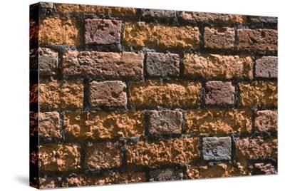 Detail of an Ancient Brick Wall-Natalie Tepper-Stretched Canvas Print