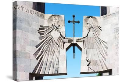 Eurasia, Caucasus Region, Armenia, Echmiatsin Cathedral, UNESCO World Heritage Site-Christian Kober-Stretched Canvas Print