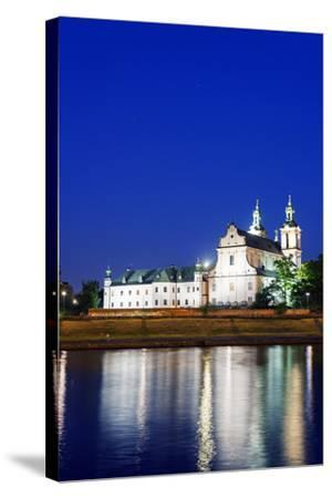 Europe, Poland, Malopolska, Krakow, Church on the Rock-Christian Kober-Stretched Canvas Print