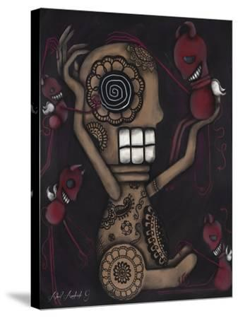 My Conscience-Abril Andrade-Stretched Canvas Print