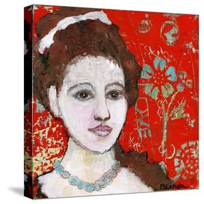 Engraved Love-Blenda Tyvoll-Stretched Canvas Print