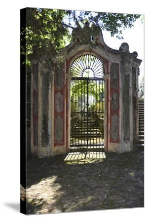 Italian Gate-Chris Bliss-Stretched Canvas Print