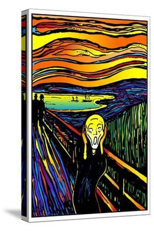 Scream 2-Howie Green-Stretched Canvas Print