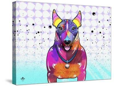 Bull Terrier XI-Fernando Palma-Stretched Canvas Print
