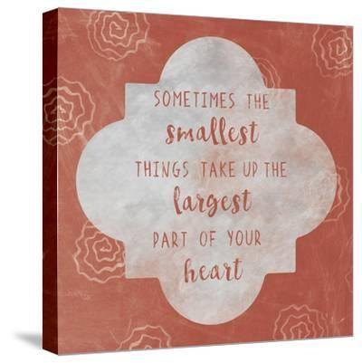 Large Heart-Erin Clark-Stretched Canvas Print