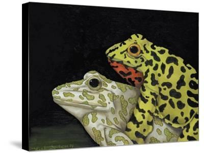 Horny Toads 3-Leah Saulnier-Stretched Canvas Print