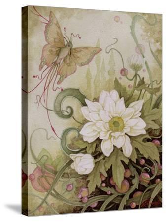 Mystic Garden Study-Linda Ravenscroft-Stretched Canvas Print