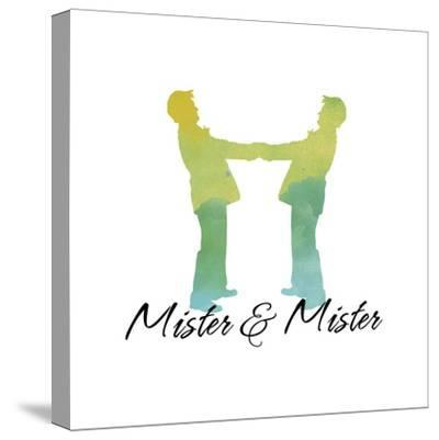Mister and Mister-Tina Lavoie-Stretched Canvas Print