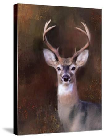 Eight Point in Autumn-Jai Johnson-Stretched Canvas Print