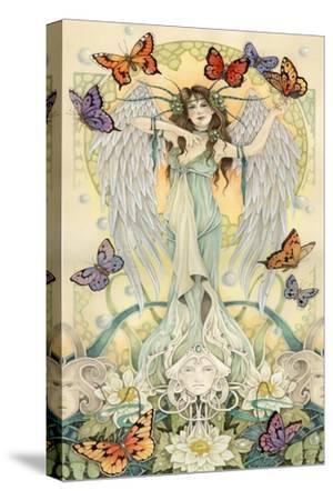 The Soul Searchers 3-Linda Ravenscroft-Stretched Canvas Print