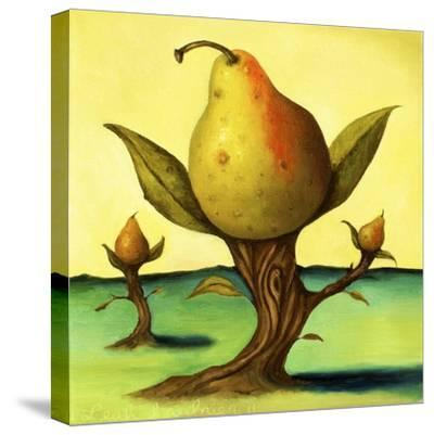 Pear Trees 2-Leah Saulnier-Stretched Canvas Print