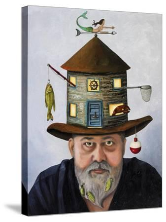 The Fisherman-Leah Saulnier-Stretched Canvas Print