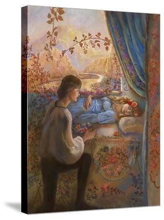 Sleeping Beauty-Judy Mastrangelo-Stretched Canvas Print