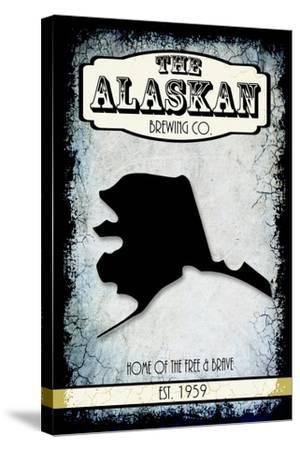 States Brewing Co Alaska-LightBoxJournal-Stretched Canvas Print