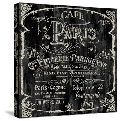 Paris Bistro VI-Color Bakery-Stretched Canvas Print