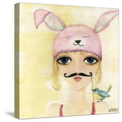 Big Eyed Girl Be Yourself-Wyanne-Stretched Canvas Print