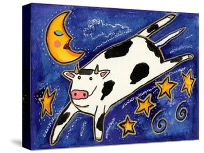 The Cow That Jumped over the Moon-Wyanne-Stretched Canvas Print