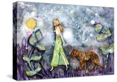 Follow-Wyanne-Stretched Canvas Print
