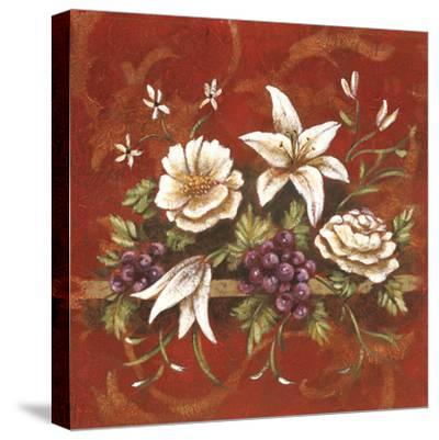 Jaipur Blossoms I-Fiona Demarco-Stretched Canvas Print