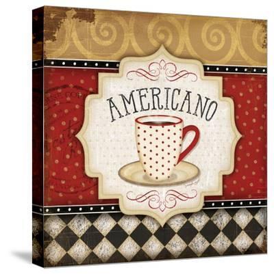 Americano-Jennifer Pugh-Stretched Canvas Print
